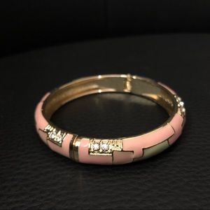 Jewelry - Pink,Green and Gold Bangle